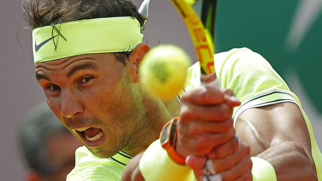 Rafael Nadal auch in seinem zweiten Match nicht ernsthaft gefordert