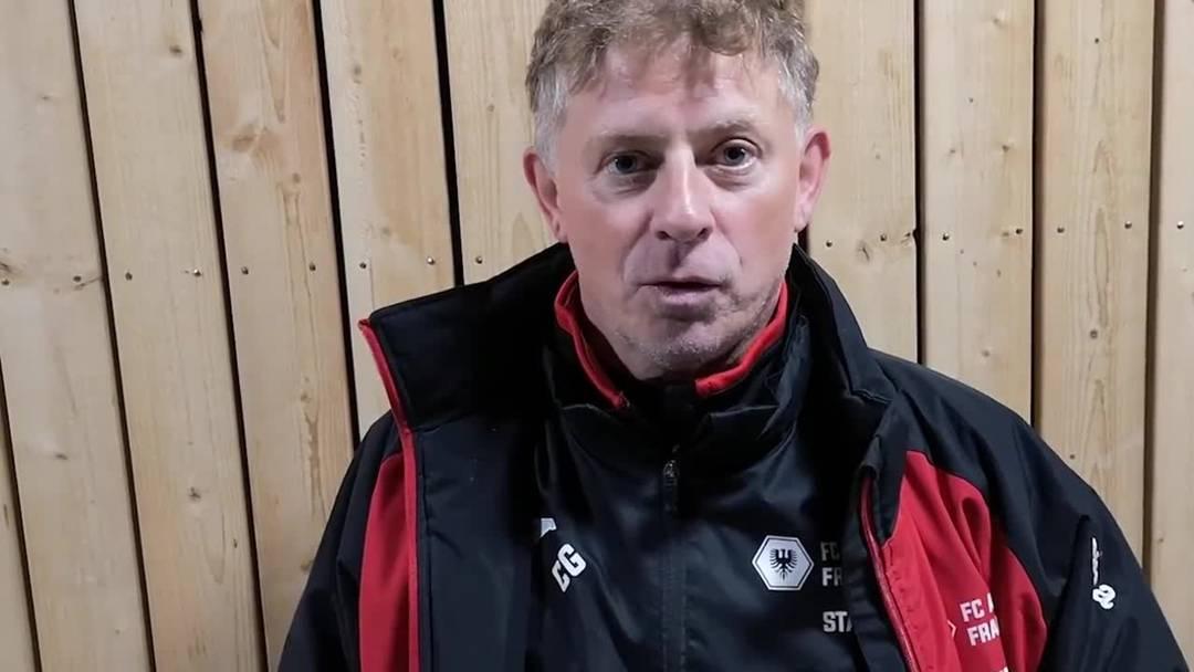 Trainer Charles Grütter nach dem 1:0-Sieg gegen Worb