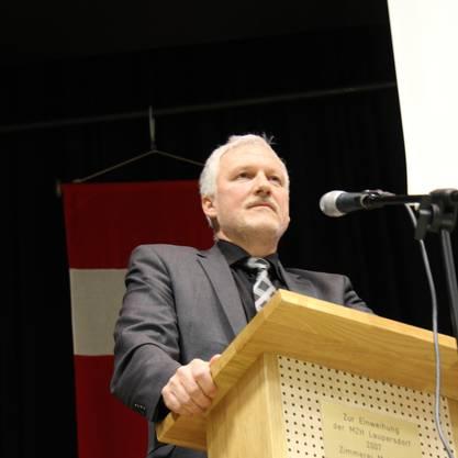 Landammann Peter Gomm stellte sich den kritischen Stimmen.