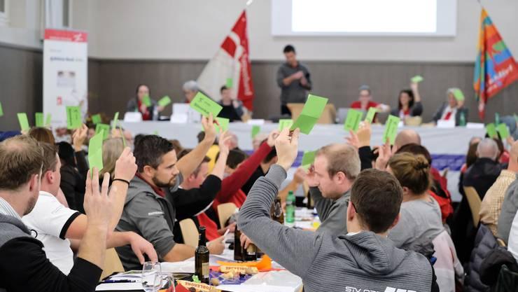 20. Delegiertenevrsammlung des RTVSU 2019  in der alten Turnhalle in Biberist