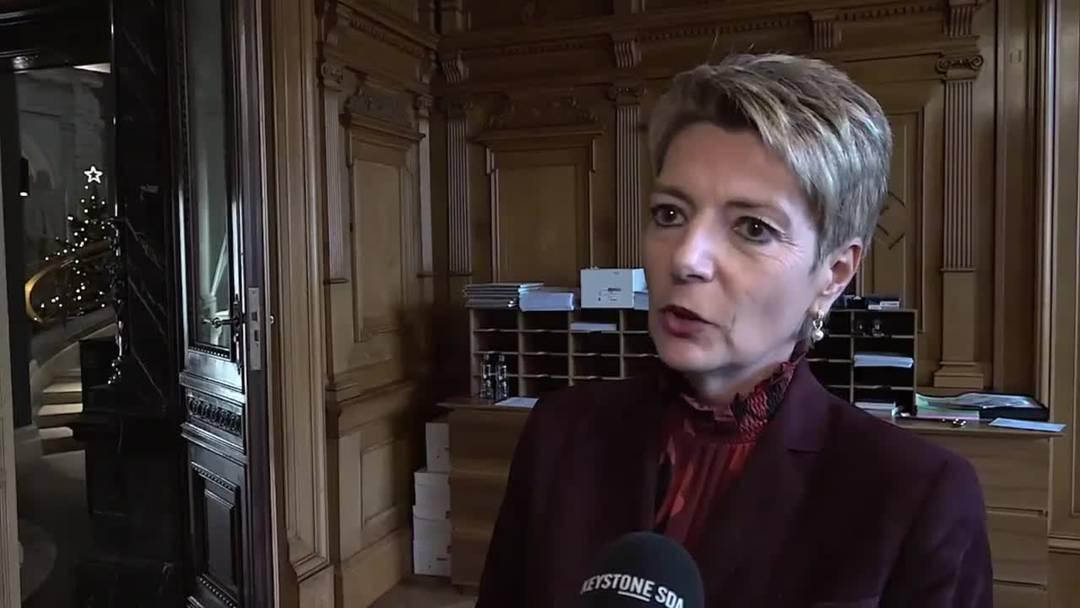 Konzernverantwortungsinitiative: Keller-Sutter zum klaren Entscheid des Ständerates