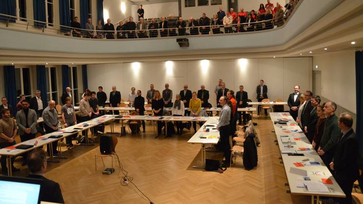 Die Reaktionen der Wohler Parteien auf den Entscheid der Aargauer Regierung fallen unterschiedlich aus. (Archivbild Einwohnerrat)
