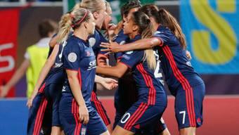 Lyon jubelt über den dritten Titel in der Champions League in Folge