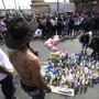 Die Ruhe vor der Massenpanik: An der Totenwache für den ermordeten US-Rapper Nipsey Hussle gab es zahlreiche Verletzte.