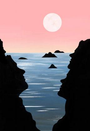 Eine der Illustrationen von Lina Müller (*1981) im Kulturleitbild. Sie wurde 2013 mit dem Förderpreis Bildende Kunst des Kantons ausgezeichnet.