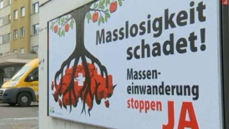 Die Masseneinwanderungsinitiative findet bei Solothurnern Anklang.