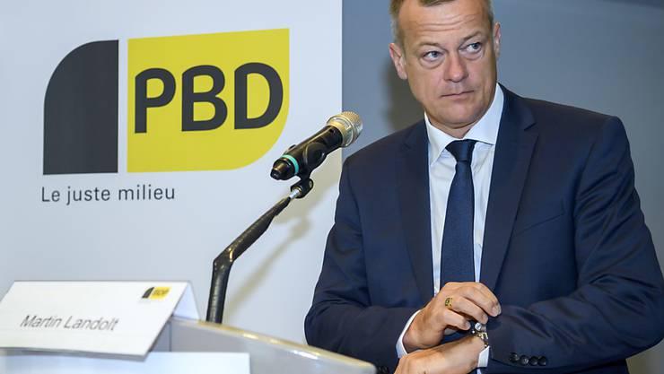 Höchste Zeit für eine fortschrittliche und vernünftige Politik: BDP-Präsident und Nationalrat (GL) an der Delegiertenversammlung in Genf.