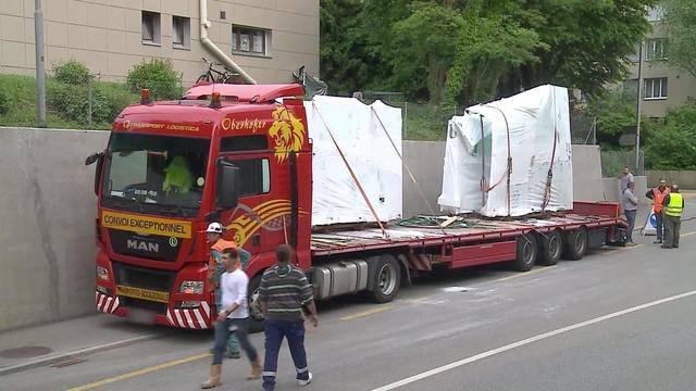 LKW zu hoch für Unterführung