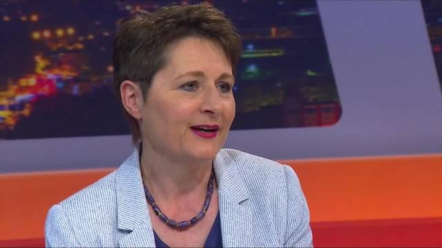 Franziska Roth nach 100 Amtstagen im Talk Täglich