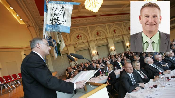 Daniel Kämpfer wird an der diesjährigen Bastiansfeier zum Vater Bastian ernannt. (Archiv)