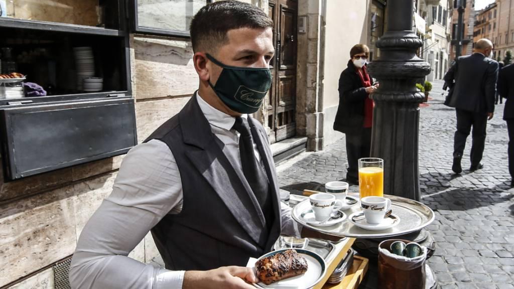Gastronomen in Italien klagen über fehlende Mitarbeiter