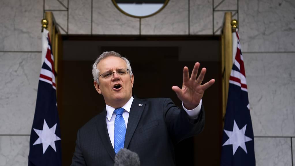 Australiens Premierminister Scott Morrison will möglicherweise nicht persönlich am UN-Klimagipfel im schottischen Glasgow teilnehmen.