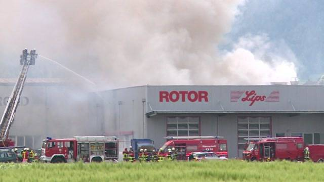 Grossbrand in Uetendorf