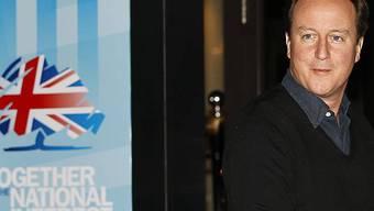 Premier und Parteichef David Cameron