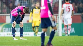 Seit 662 Minuten wartet der Hamburger SV schon auf einen Torerfolg. Keystone