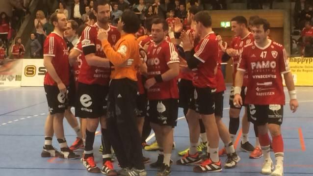 HSC Suhr Aarau in der Finalrunde