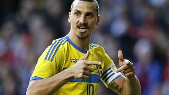 Zlatan Ibrahimovic: Schwedens Rekordschütze