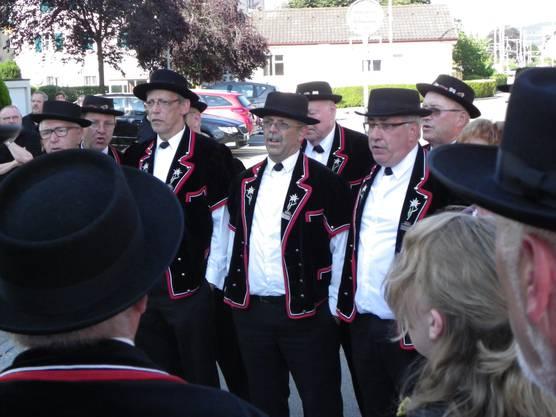 """Mit dem Lied """"E Hand voll Heimatärde"""" war der Jodlerklub Laufenburg-Rheinfelden am Eidgenössischen erfolgreich."""