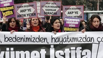 In den letzten Tagen gab es zahlreiche Proteste gegen die Regierung