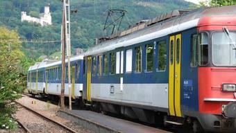 OeBB im Bahnhof Oensingen.