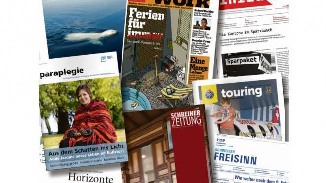 Bis zu 50 Prozent höhere Zustellpreise gibt es für diese Mitgliederzeitungen. Foto: HO/Montage