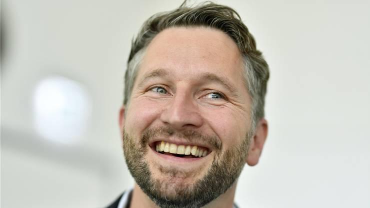 Übernimmt das Finanzdepartement per 1. November: Kaspar Bopp (SP).