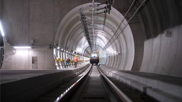 Mit dem 15,4 km langen Ceneri-Basistunnel wird die Neat vollendet.