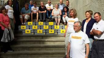 """Für die Urheber der Berner Anti-Lehrplan-21-Initiative haben sich die bisherigen Lehrpläne """"bewährt""""."""