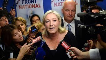 Der Front Nationale rund um Marine Le Pen konnte sich im Elsass nicht durchsetzen.