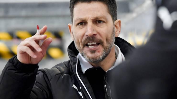 Trainer Chris Bartolone coachte Olten nach einem 0:2-Rückstand noch zu einem 5:2-Sieg über die GCK Lions