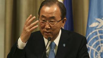 Ban Ki-Moon will Iran an Syrien-Verhandlungen (Archiv)