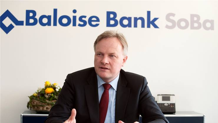 Bank-Chef Jürg Ritz kann gute Zahlen für das Geschäftsjahr 2012 vermelden. (Archiv)