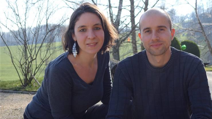 Nadja Nyffeler und Simon Kiefer werden den Bioladen «Grünland» führen.