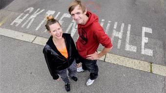 Das neue Gastro-Team in der Aktienmühle: Simone Fuchs und Christian Lorenz.