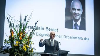 «Altersvorsorge 2020» mit Bundesrat Alain Berset