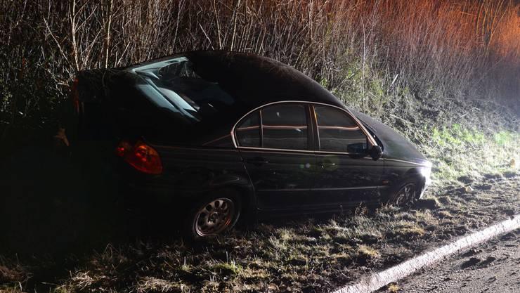 Auf der Autobahn A2 verunfallte ein 24-jähriger Autofahrer.