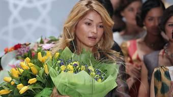 Gulnara Karimowa während einer Modeschau 2011. Rund drei Jahre später verschwand die Tochter des ehemaligen usbekischen Präsidenten plötzlich von der Bildfläche. (Archiv)