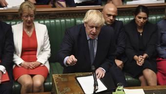 Das war nicht sehr geschmackvoll, Boris Johnson.