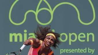 In Miami nicht zu stoppen: Serena Williams