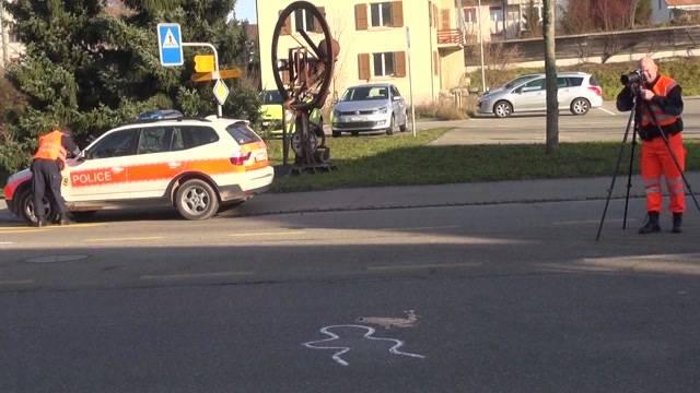 Schwerer Unfall in Lyss