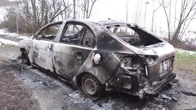 Leiche aus ausgebranntem Auto identifiziert