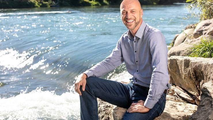 Der Freiämter Michael Plattner ist einer der Initianten des Vereins Flusswelle Bremgarten.