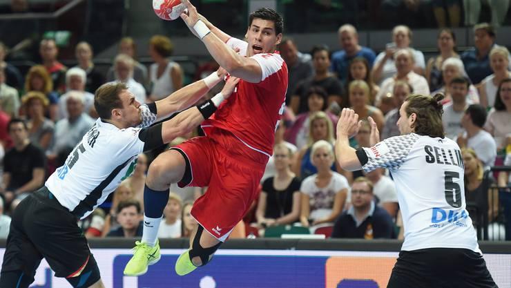 Im Handball spielt die Schweizer Nationalmannschaft bald gegen Belgien.