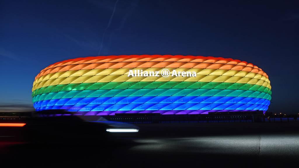 UEFA verbietet «Regenbogen-Stadion» in München - es hagelt Kritik