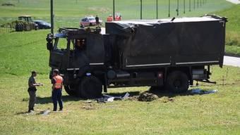 Militär Unfall