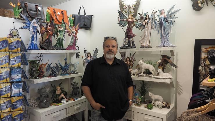 Claudio Meier hofft auf Touristen im Sommer.