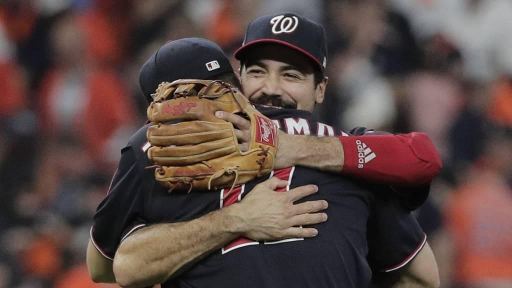 Die Washington Nationals träumen vom ersten Sieg in den World Series