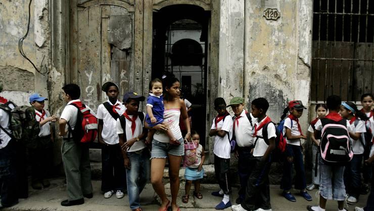 Das Schweizer Hilfswerk Zunzún unterstützt kubanische Kinder. (Symbolbild)