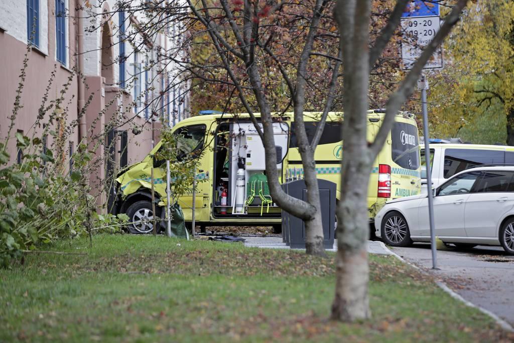 Oslo: Krankenauto fährt in Menschenmenge (© Keystone/AP)