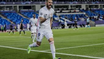 Mann des Abends in Madrid: Karim Benzema.